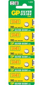 GP Batteries 1.55V 392 Silver Oxide Button Cell Batteries
