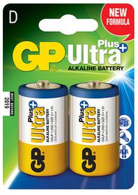 GP Batteries 1.5V D Alkaline Ultra Plus Batteries