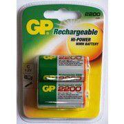 GP Batteries 1.2V C 2200 mAh NiMH Rechargeable Batteries