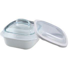 Corelle Bake Serve & Store Square Dish - 1.5 Litre