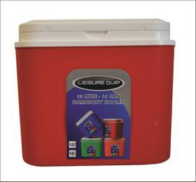 LeisureQuip - 10 Litre Hardbody Cooler - Red