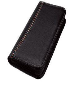 Eco Tribal Passport Wallet - Black