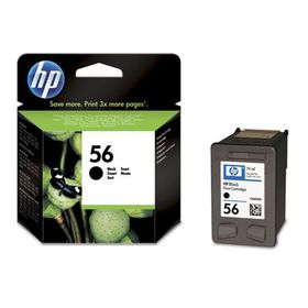 HP No 56 Black Ink Cartridge