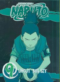 Naruto Uncut Box Set 9 - (Region 1 Import DVD)