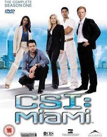 CSI Miami: Complete Season 1 (DVD)