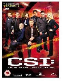 CSI Vegas: Crime Scene Investigation Complete Season 3 (DVD)
