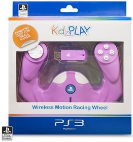 KidzPLAY Wireless Motion Wheel - Pink (PS3)
