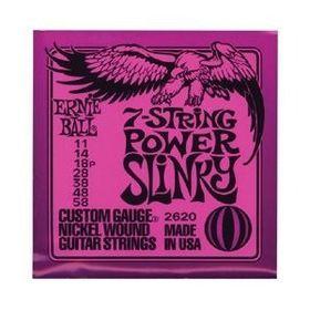 Ernie Ball 2620 7-String Power Slinky Nickel Wound Set (11 - 58)