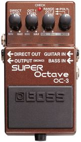 Boss OC-3 Super Octave Effects Pedal