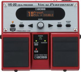 Boss VE-20 Voice Effects Processor Twin Pedal
