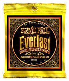 Ernie Ball 2558 Everlast Acoustic Guitar Strings 80/20 Bronze - Light (11 - 52)