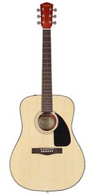 Fender CD-60 Acoustic Guitar Dreadnought - Natural