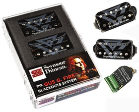 Seymour Duncan AHB11S Gus G. Fire Blackouts Electric Guitar Pickup System, Set