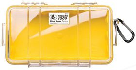 Pelican 1060 Clear Case - Yellow