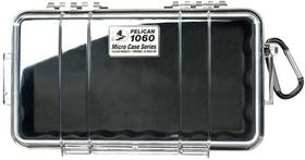 Pelican 1060 Clear Case - Black