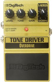 DigiTech XTD Tone Driver Overdrive Guitar Effects Pedal