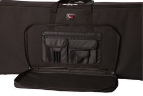 Gator GK-61 Lightweight Case For 61 Note Keyboard with Wheels