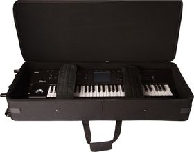 Gator GK-76 Lightweight Case For 76 Note Keyboard with Wheels