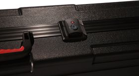 Gator GKPE-76D-TSA ATA Molded PE Deep Case for 76 Note Keyboard with Wheels