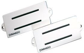 DiMarzio DP127BK Split P Replacement Pickup For Fender P-Bass - White