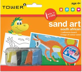 Tower Kids Sand Art South African - Springbok