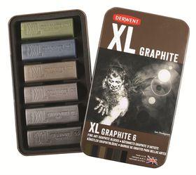 Derwent XL Graphite  - Tin of 6