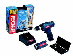 Ryobi - 12V Cordless Driver Drill Bundle