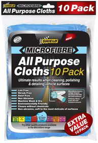 Shield - MicroFibre All Purpose Cloths 10 Pack