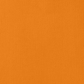 American Crafts Cardstock 12x12 Textured - Squash