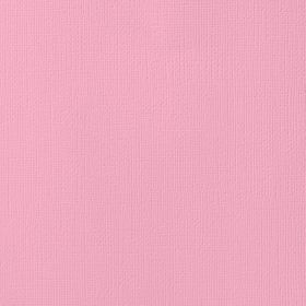 American Crafts Cardstock 12x12 Textured - Peony