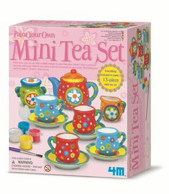 4M Tea Set Painting Kit