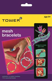 Tower Kids Be A Designer - Mesh Bracelets