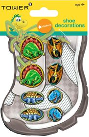 Tower Kids Shoe Decorations - Dinosaurs 2