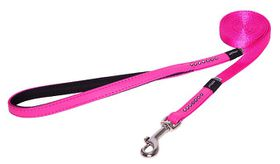 Rogz Lapz 13mm Small Luna Fixed Long Dog Lead - Pink