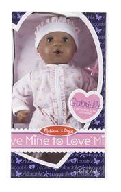 Melissa & Doug Gabriella - 12 Inch Doll