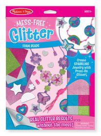 Melissa & Doug Foam Beads - Mess Free Glitter