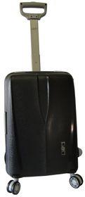 Voss Polyprop Spinner Hard Case With TSA Lock 55cm - Black