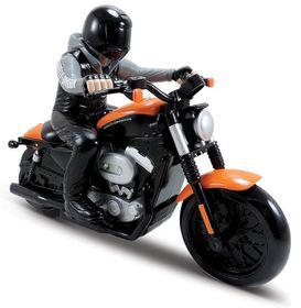Maisto 1/8 R/C Harley-Davidson Motorcycle with Alkaline Batteries - Orange