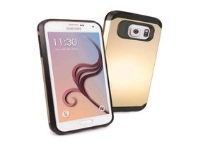 Tuff-Luv Hard Armour shell Case Cover for Samsung Galaxy S6 - Gold