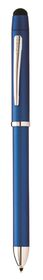 Cross Tech3+ Metallic Blue Multifunction Pen With Stylus