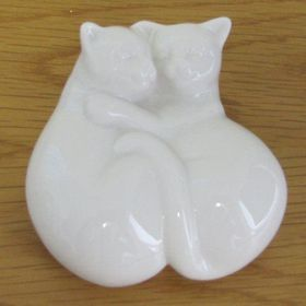 Pamper Hamper - Ceramic Sleeping Cats