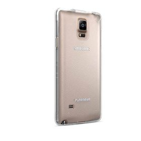 PureGear Slim Shell Case for Samsung Note 4 - Clear/Clear