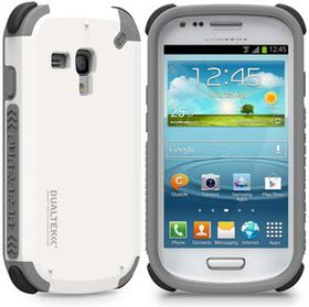 PureGear Dualtek for Samsung S3 Mini - Arctic White