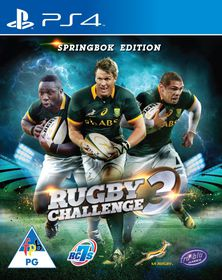 Springbok Rugby Challenge 3 (PS4)