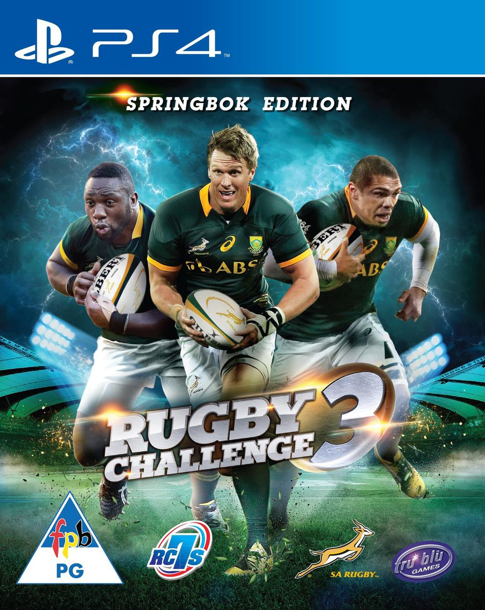 Springbok Rugby Challenge 3 Ps4 Buy Online In South