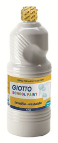 Giotto School Paint 1000ml - White