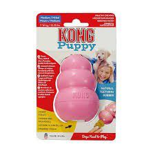 Kong -  Puppy Toy - Medium - Pink