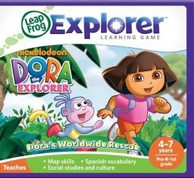 LeapFrog - Explorer Game - Dora the Explorer
