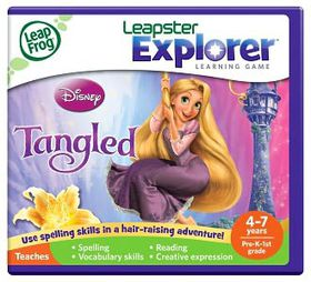 LeapFrog - Explorer Game - Disney Tangled