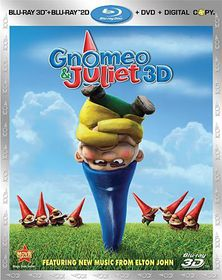 Gnomeo and Juliet 3d - (Region A Import Blu-ray Disc)